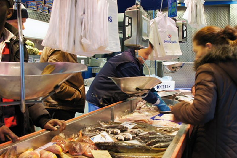 Vishandel TEL, Nieuwmarkt
